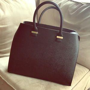 Black Large Handbag